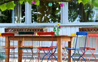 raumwunder | draussen träumen auf Terrasse und Balkon | Essen draussen