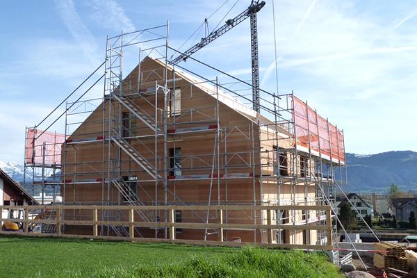 raumwunder | Ein Gesamtkonzept für den Neubau | Bauphase