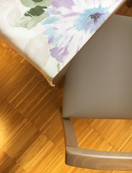 raumwunder | Bewohnerzimmer | Stuhl Stoff Kombination