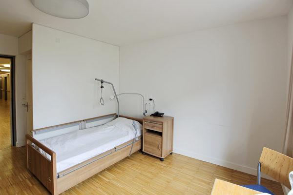 raumwunder | Bewohnerzimmer | vorher Bett