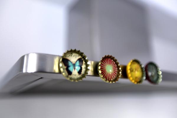 raumwunder | Küchenumbau | Magnete Dekoration