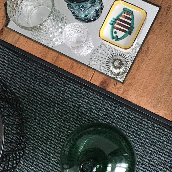 raumwunder | Wohnzimmer | Holztisch Dekor