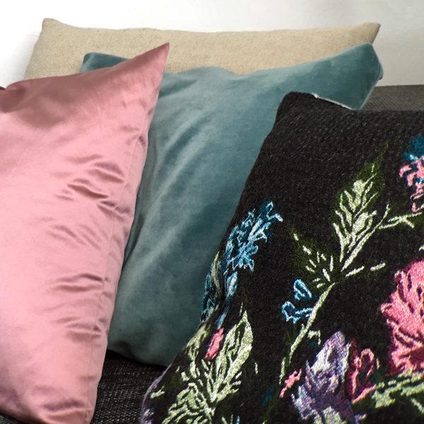 raumwunder | Wohnzimmer | Kissen Kombination