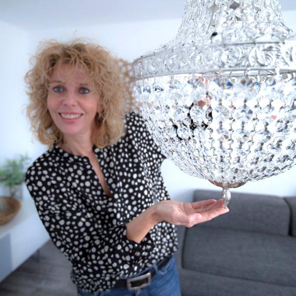 raumwunder | Wohnzimmer | Petra Peyer Kronleuchter